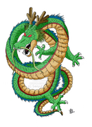 Shenron colored by Seiryu6-1-