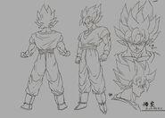 Sketch DBZ11 Goku (SSJ)