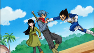 Trunks y Mai despedida todos 4