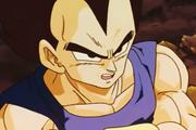 Vegeta capiesce che Goku è più forte di lui