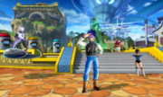 DBXV2 Future Warrior (Recreation Plaza Shop Area) Time Patrollers in Conton City (Conton City Multi-Lobby)