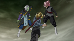 FLSSGSSYB Trunks vs SSJR