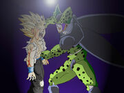 Request Gohan vs Cell by Tonesko