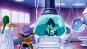 Zarbon and Appule treat Vegeta