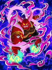 Dokkan Battle Boss Demonic Ogre Ghastel card (Story Event Sleeping Princess in Devil's Castle - Ghastel SSR)