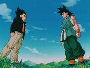 Goku and Vegeta enddbz