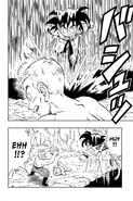 Goku arrives in the nick of time