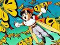 DBGT ep6 Like Pulling Teeth Pan Honey flying with Monmaasu Butterflies