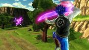 DBXV2 Future Warrior 2 (Super Pack 3 DLC) Divine Lasso (Ultimate Skill)
