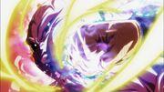 Destello del Dragón Plateado golpe Jiren