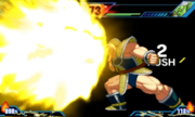 Extreme Butoden Nappa My Most Powerful Move Ever! (Break Cannon Finish)