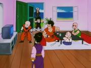 Gohan e Trunks arrivano alla Kame House