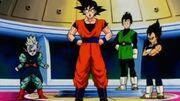 Goku,SupremeKai,GohanAndVegeta