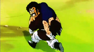 Mr. Satan salva a Vegeta