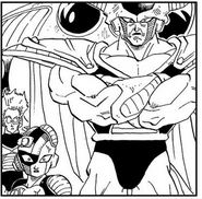 Shocked Mecha-Frieza, King Cold & Fisshi as Future Trunks claims he came to kill them - Dragon Ball Manga chapter 331, DXRD.