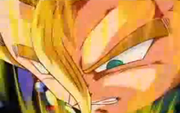 Ssj gohan pulling out the z sword