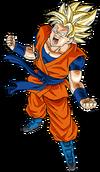 Super Saiyan Fuera de Control Goku artwork (1)
