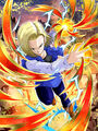 Dokkan Battle Grisly Destruction Android 18 (Future) card
