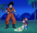 """Goku's """"Ki"""" is Out of Control?! Lots of Trouble Taking Care of Pan!"""