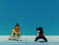 Salt fights gohan10