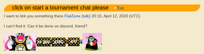 Strange message on a User's Talkpage.