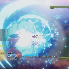 Son Goku contro Raditz.