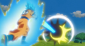 Goku's Kamehameha vs Arale's N'cha Cannon