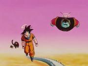 Goku e Re Kaioh nell'aldilà