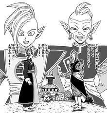 Gowasu e Zamasu contenuto extra Volume 4