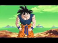 Goku enfadado en namek