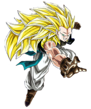Gotenks ssj3 render