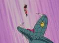 Princess Snake attempts to consume Goku-1-