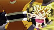 Caulifla vs Methiop.