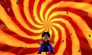 DB Fusions Saiyan Vasabi Dead Zone (Special Move - Pic 2)