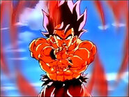 Goku Kaioken Kamehameha