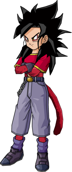 Pan ssj4 v2 by db own universe arts-d4jg8f0