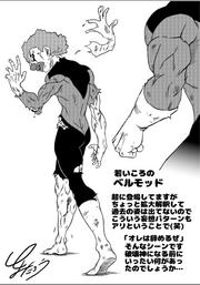Belmod's past Toyotaro sketch