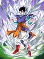 Dokkan Battle The Sign of Ultimate Evolution Gohan (Teen) card (Apprentice Supreme Kai Ultimate Gohan SSR-UR)