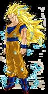 Goku SSJ3 Render