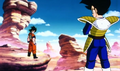 Goku vs Vegeta arc Saiyajin