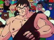 Lottatore ferito da Tenshinhan 2