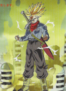 Trunks del Futuro (Ira Super Saiyan) Arte