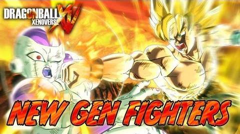 Dragon Ball Xenoverse - PS3 PS4 X360 XBOX ONE - New Gen Fighters (E3 2014 Italian Trailer)