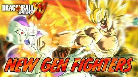 Dragon Ball Xenoverse - PS3 PS4 X360 XBOX ONE - New Gen Fighters (E3 2014 Italian Trailer)