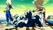 Goku Vegeta et Cooler