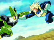 Trunks vs cell 4