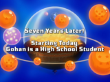 Seven Years Later! Starting Today, Gohan is a High School Student