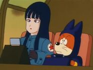 Shu and mai in pilaf plane