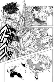 Son Gohan contro Kafla - manga