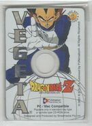Vegeta - Dragon Ball Z Collectible CD Picture Cards